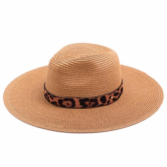 af355d36867fd6 Paris&Pearle Accessories   Tiki Beach Straw Sun Hat   Poshmark
